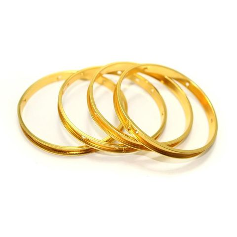 4 Bangle Base Golden 2`6 Inch