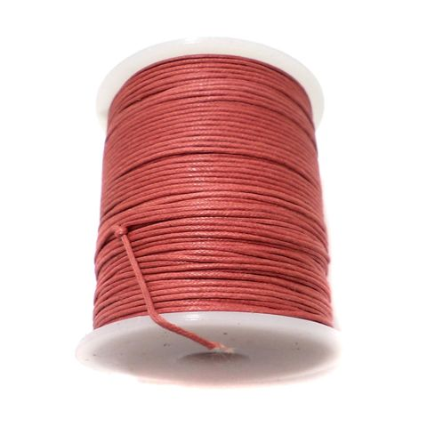 100 Mtrs. Jewellery Making Cotton Cord Cherry 1 mm