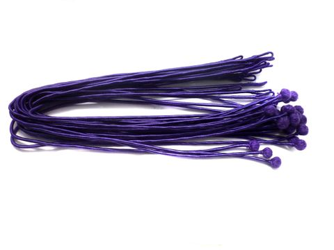 25 Pcs. Necklace Dori Purple 18 Inch