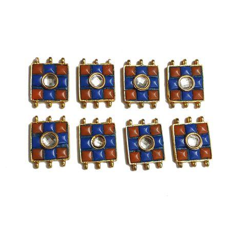 8 pcs Blue Color Spacers 30x22mm