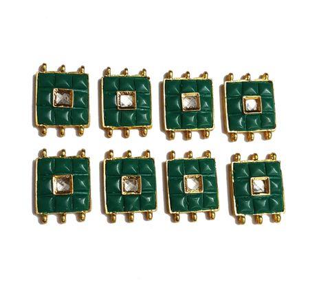 8 pcs Green Color Spacers 30x22mm