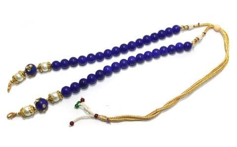 Beded Necklace Dori Blue