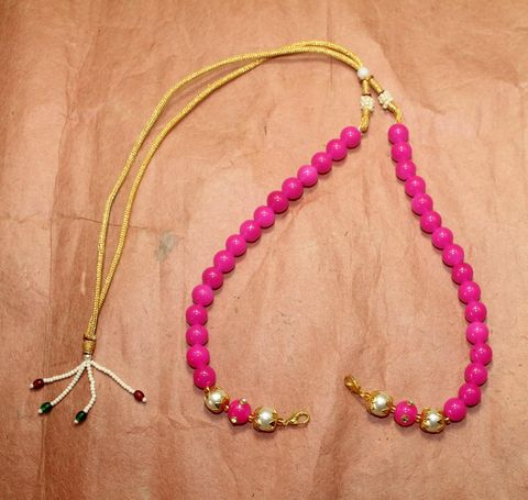 Necklace Dori Pink, Pack Of 10 Pcs