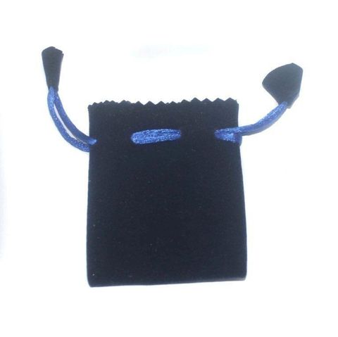 Potli Bags Royal Blue for Jewellery Gift & Craft, 8x7cm, Pack of 250 pcs