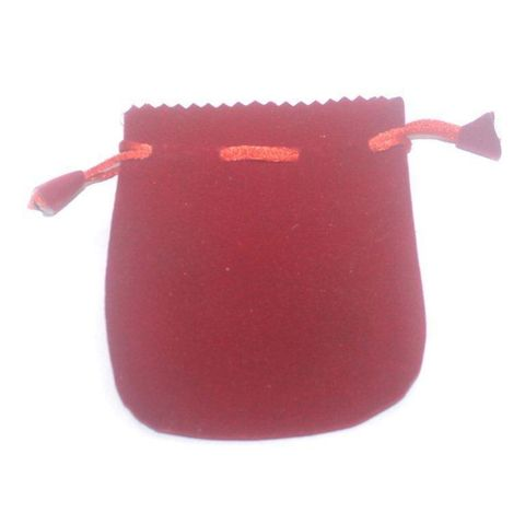 Potli Bags Red for Jewellery Gift & Craft 12x10cm, Pack of 200 pcs