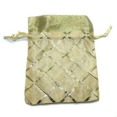 Potli Bags Light Green for Jewellery Gift & Craft 15x11cm, Pack of 100 pcs