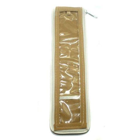 Jewellery Storage Folder Golden 9x2 Inch, Pack of 50 pcs