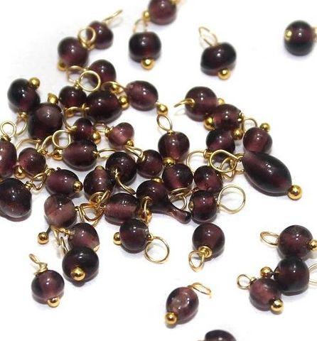 270+ Loreal Beads Purple 4 mm