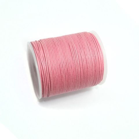 100 Mtrs. Jewellery Making Cotton Cord Baby Pink 1mm