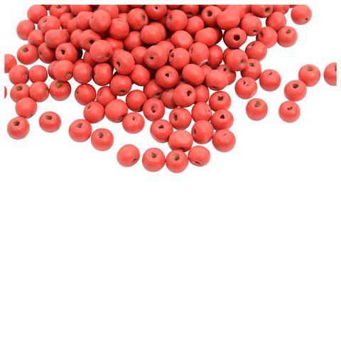 Buy 1 Get 1 Pack Free -Red Circular Wooden Beads