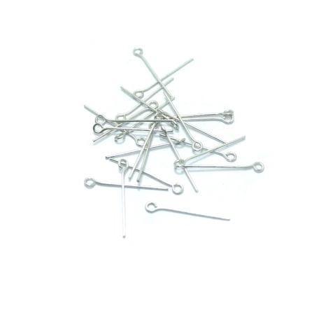 500 Pcs. German Silver Nickel Eye Pin 1 inch
