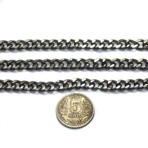 Metal Chain Black Antique 1 Mtr