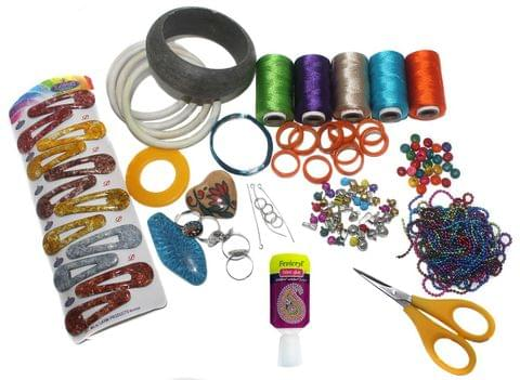 Silk Threads Jewellery Making Kit Professional