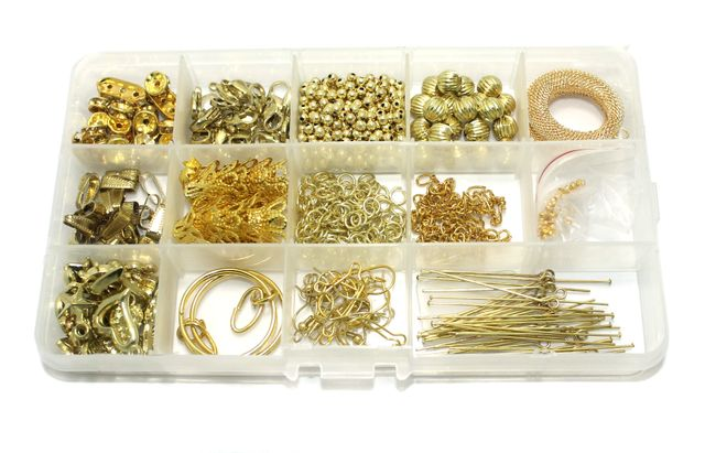 Jewellery Making Finding DIY Kit Golden