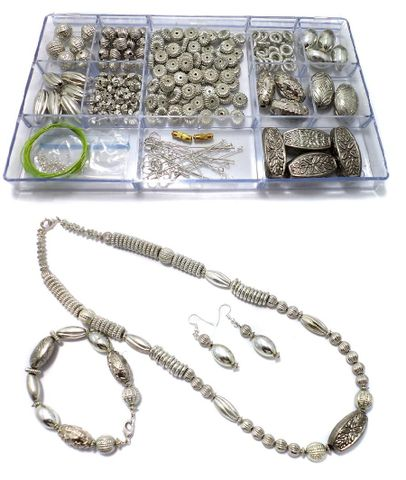 Jewellery Making CC Beads DIY Kit