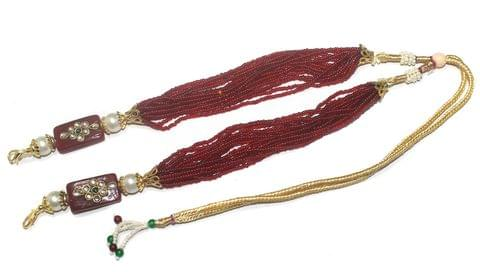 Beaded Glass Necklace Dori, Pack Of 1 Pc