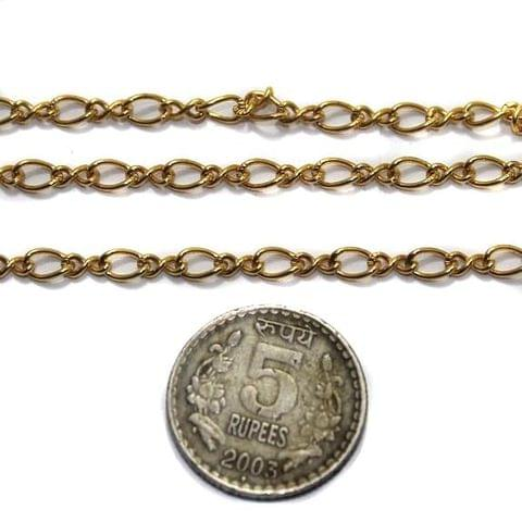 Metal Chain Golden 2 Mtrs
