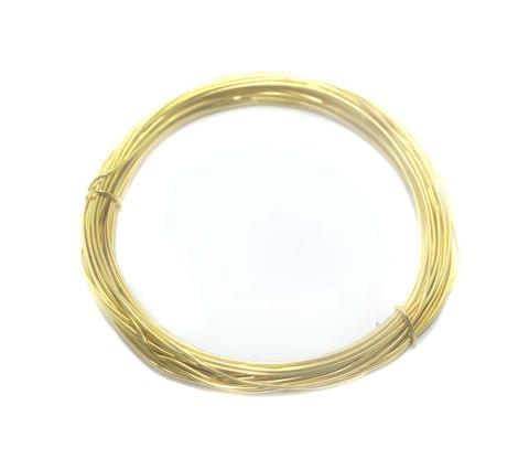 Aluminium Craft Wire Gold 10 Mtrs, Size 1 mm