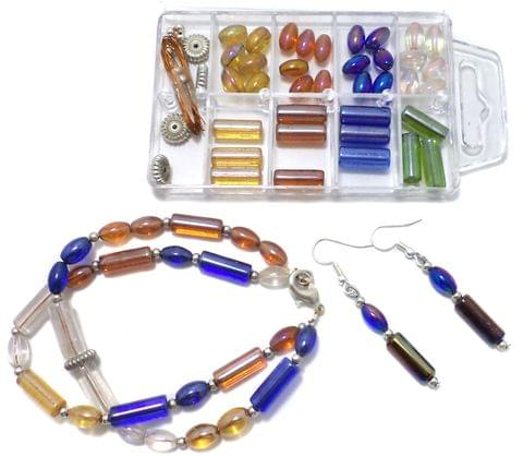 Bracelet Earring Making Kids DIY Kit, Art and Crafts Jewelry Making Kit