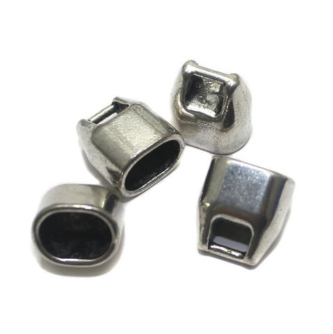 8 German Silver Spacers 12x14mm