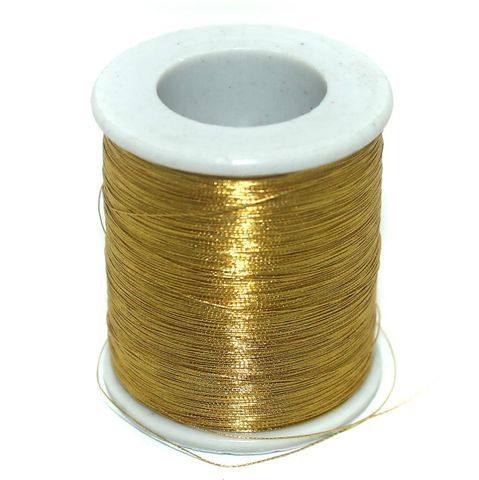500 Mtr Jewellery Making Zari Thread Golden