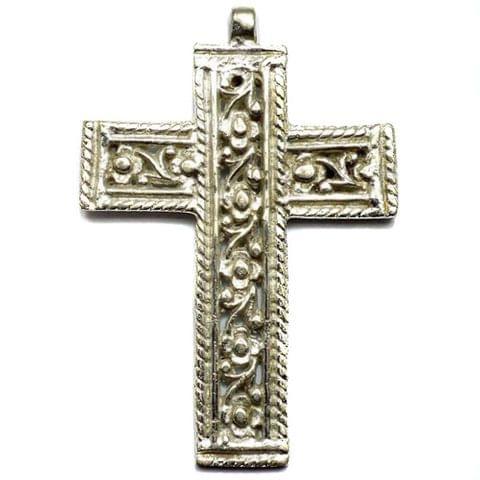 Metal Cross Pendants 80x55mm