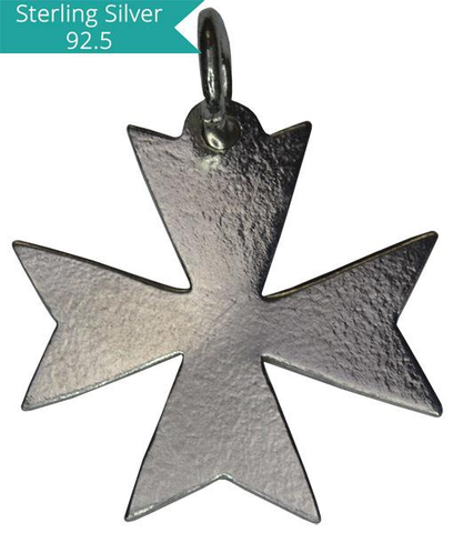 925 Silver Wide Cross Charm