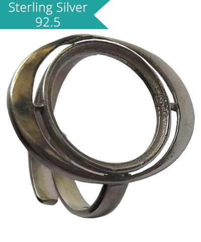 15mm Round Stone Ring Setting