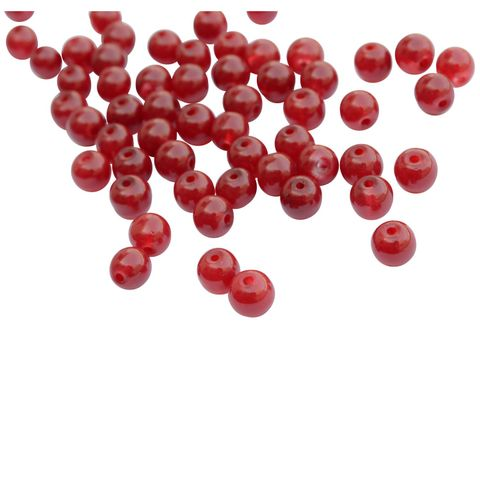 Buy 1 Get 1 FreeFoppish Mart Small Round Marron Glass Beads