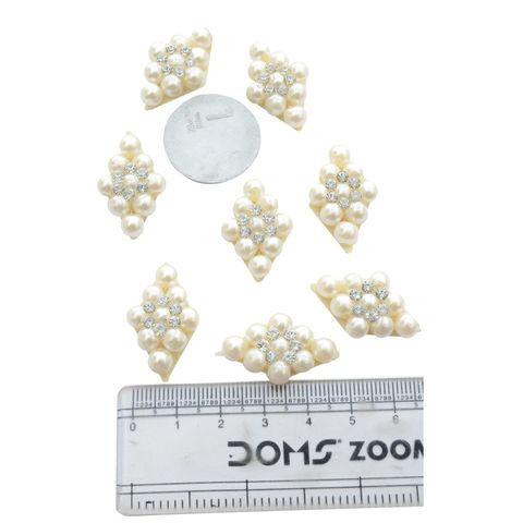 Buy 1 Get 1 Free White Pearl Diamond Buti / Motifs