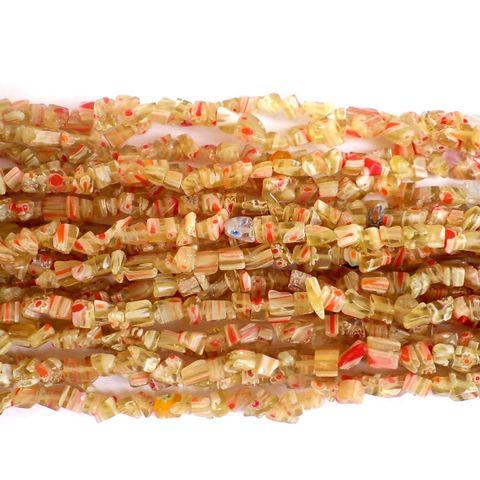 155+ Millefiori Glass Chips Mehndi 4-6mm