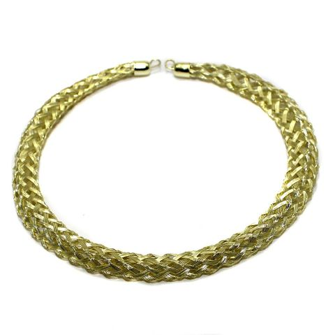 Necklace Collar Golden 13 Inch