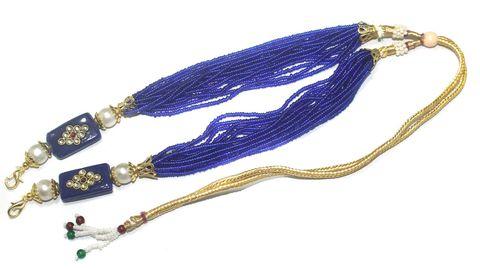 Necklace Dori Blue, Pack Of 1 Pc