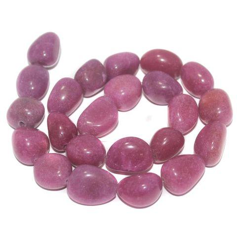 Tumbled Brown Diy Stone Beads 20-16 mm