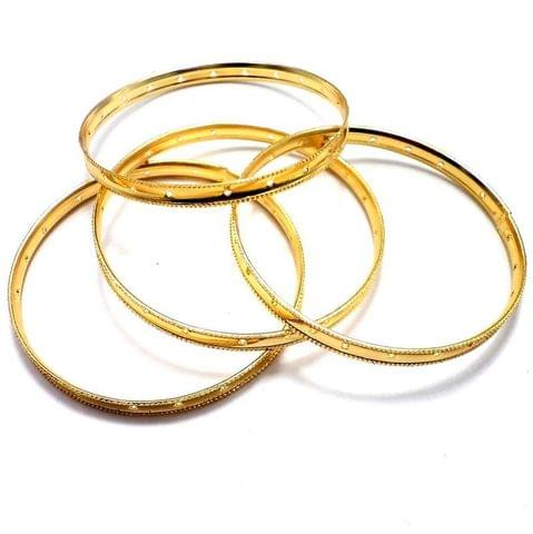 4 Bangles Base Golden 2'3 Inch