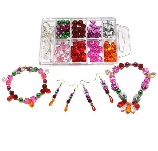 Kids Jewellery Making DIY Beads Kit