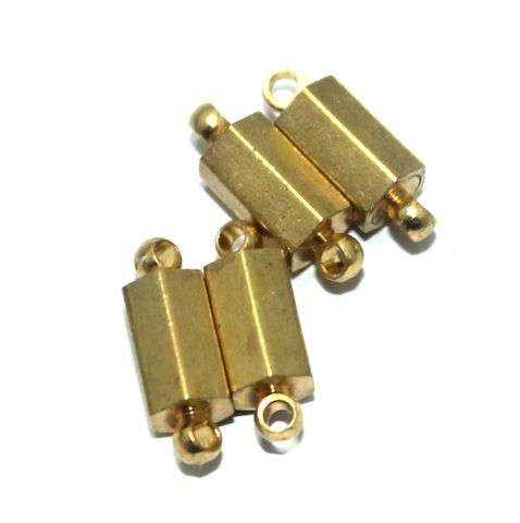 Magnetic Clasps, Size 14.5x5.5mm, Pack of 10 Pcs