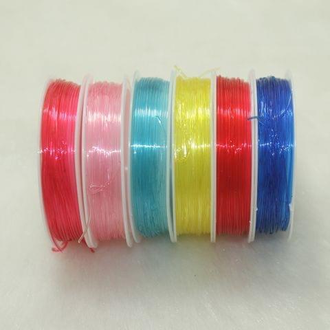 Multicolor Elastic Cord Spools 6 Pcs Combo