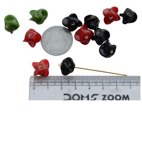 Multicolour Designer Beads- 24 Pieces