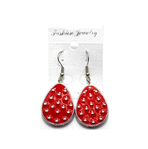 Fashion Earring For Girls Red