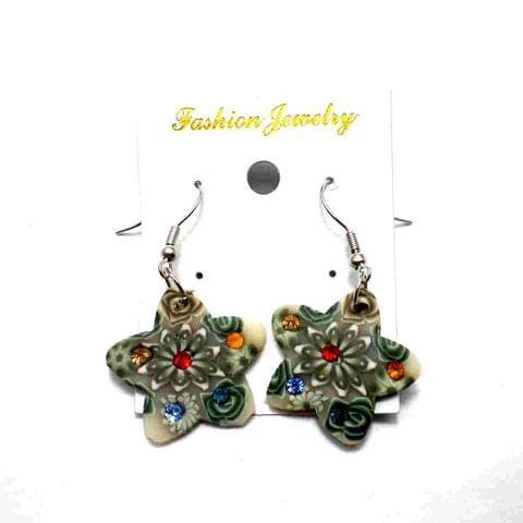 Fashion Star Earring For Girls Multi