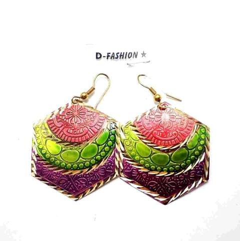 Fashion Metal Earring For Girls Multi
