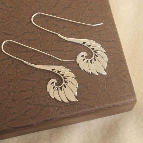 Brass Earring Silver For Girls