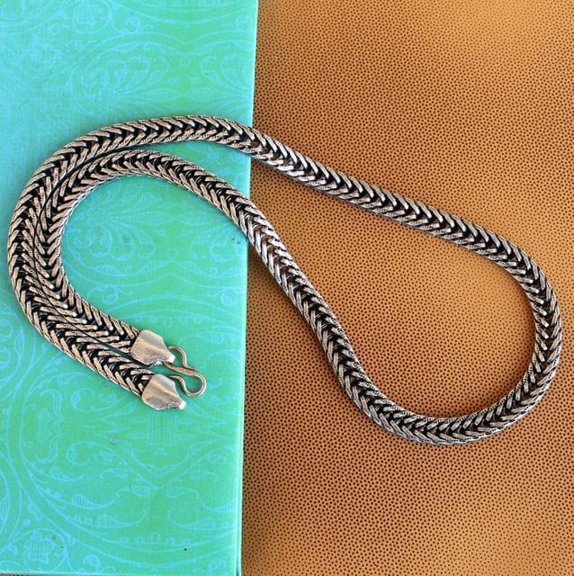 German Silver Braid Chain