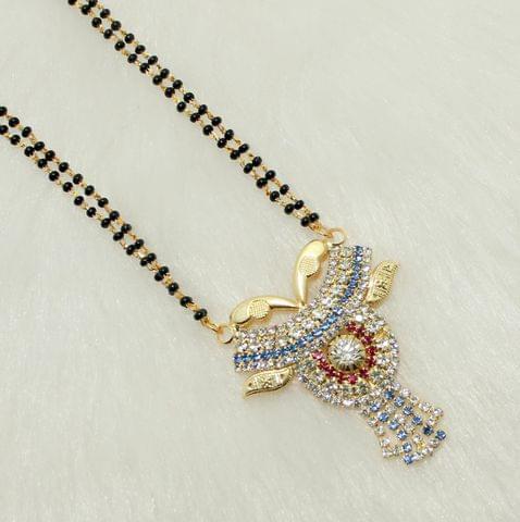Elegant Mangalsutra Pendant With Dori