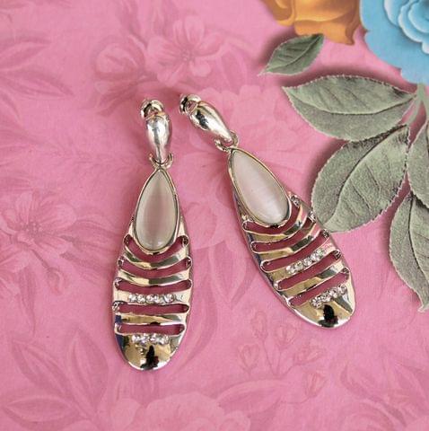 Cats Eye Dangler Earrings