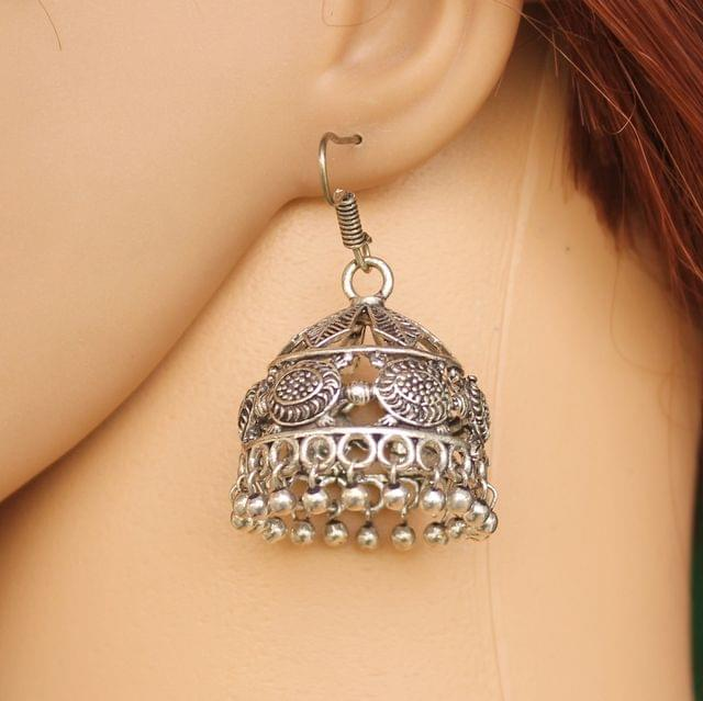German Silver Jhumki