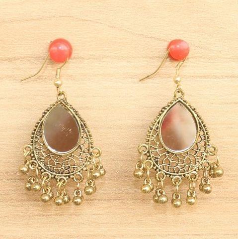 Designer Mirror Earrings