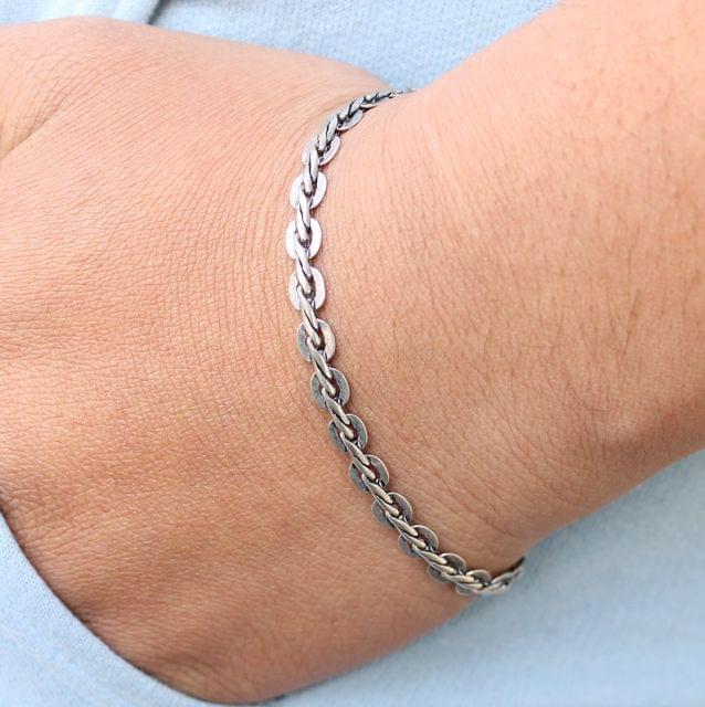 German Silver Designer Bracelet