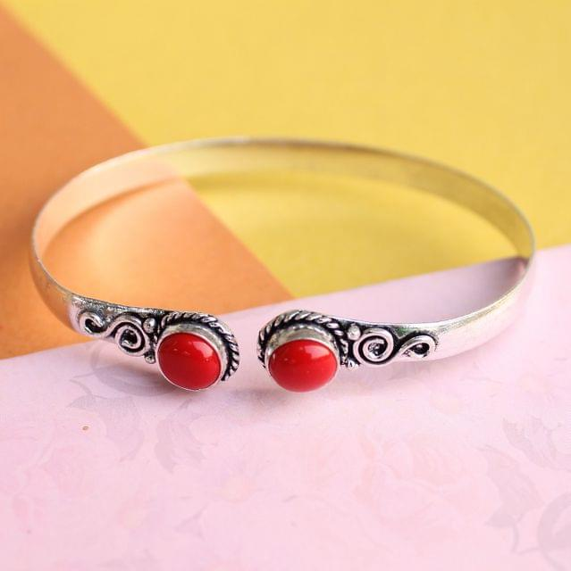 Ruby Stone Bracelet